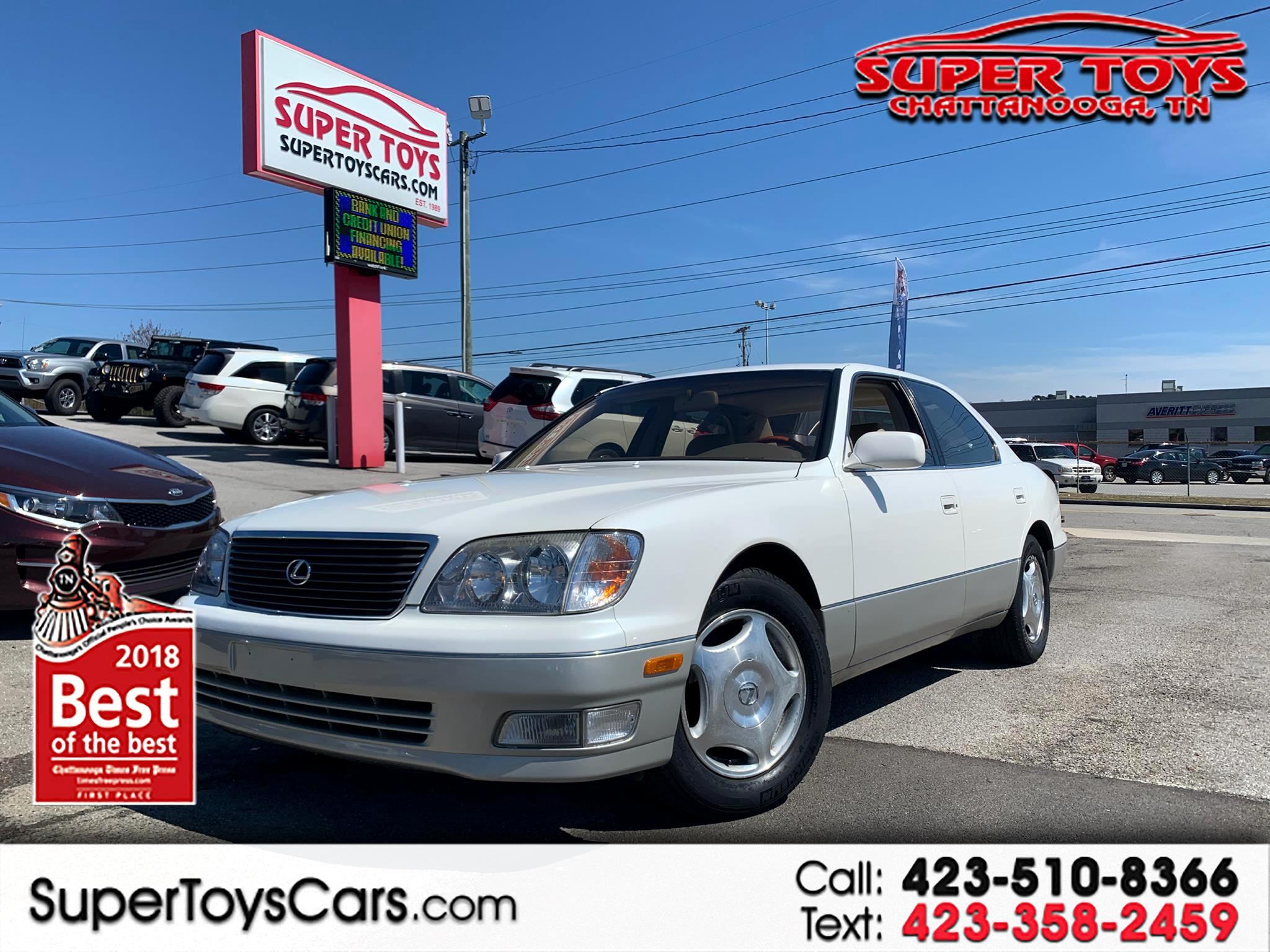 1999 Lexus LS 400 Luxury Sdn 4dr Sdn