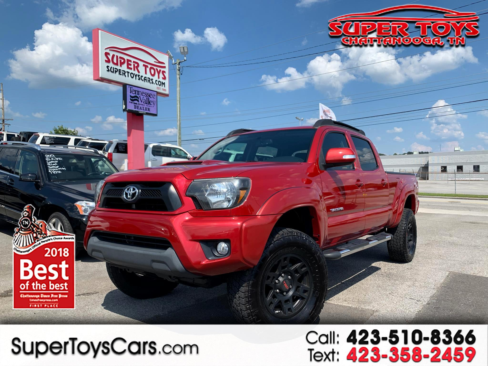 2013 Toyota Tacoma 2WD Double Cab V6 AT TRD Sport (Natl)