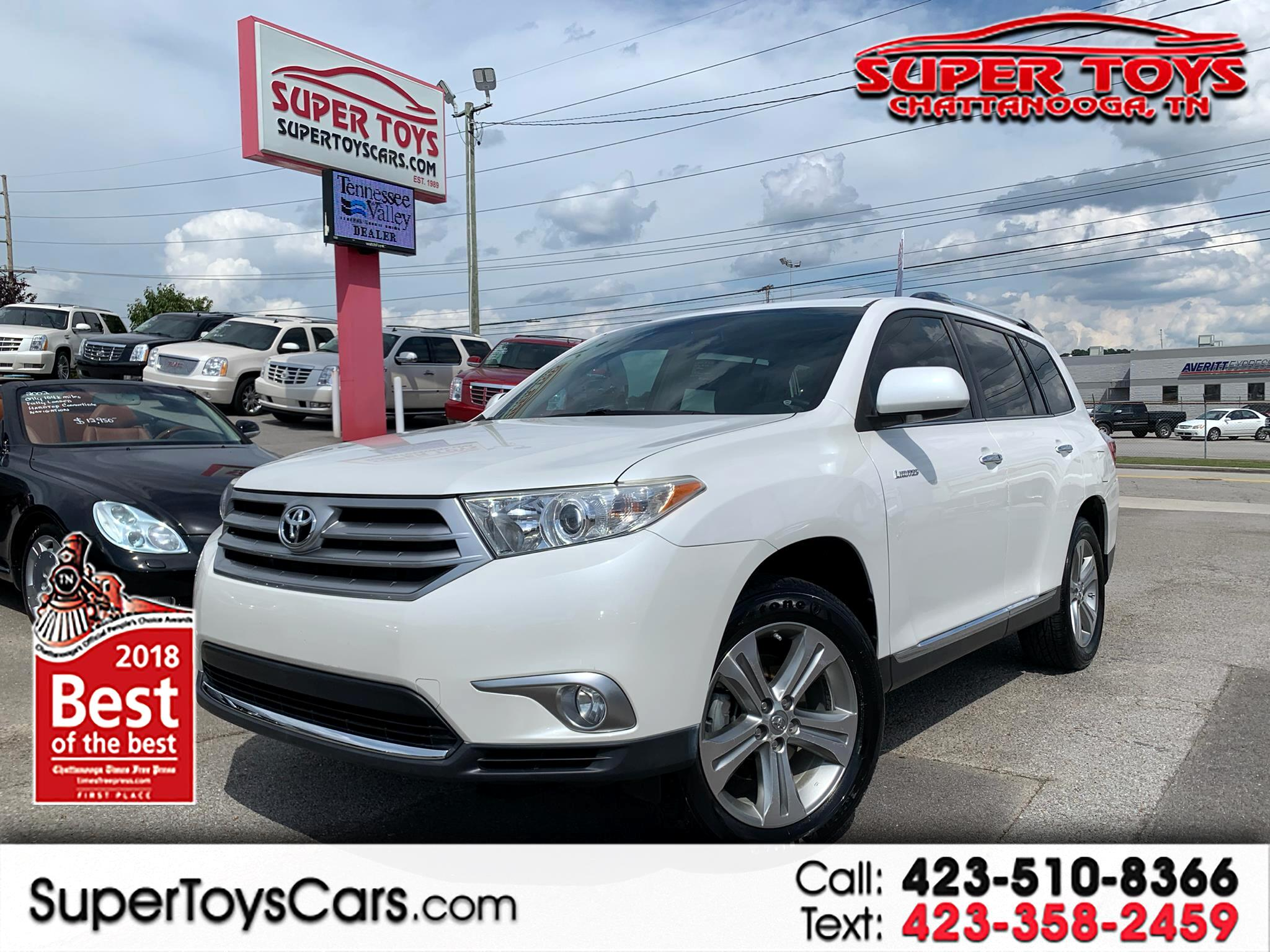 2011 Toyota Highlander FWD 4dr V6  Limited (Natl)