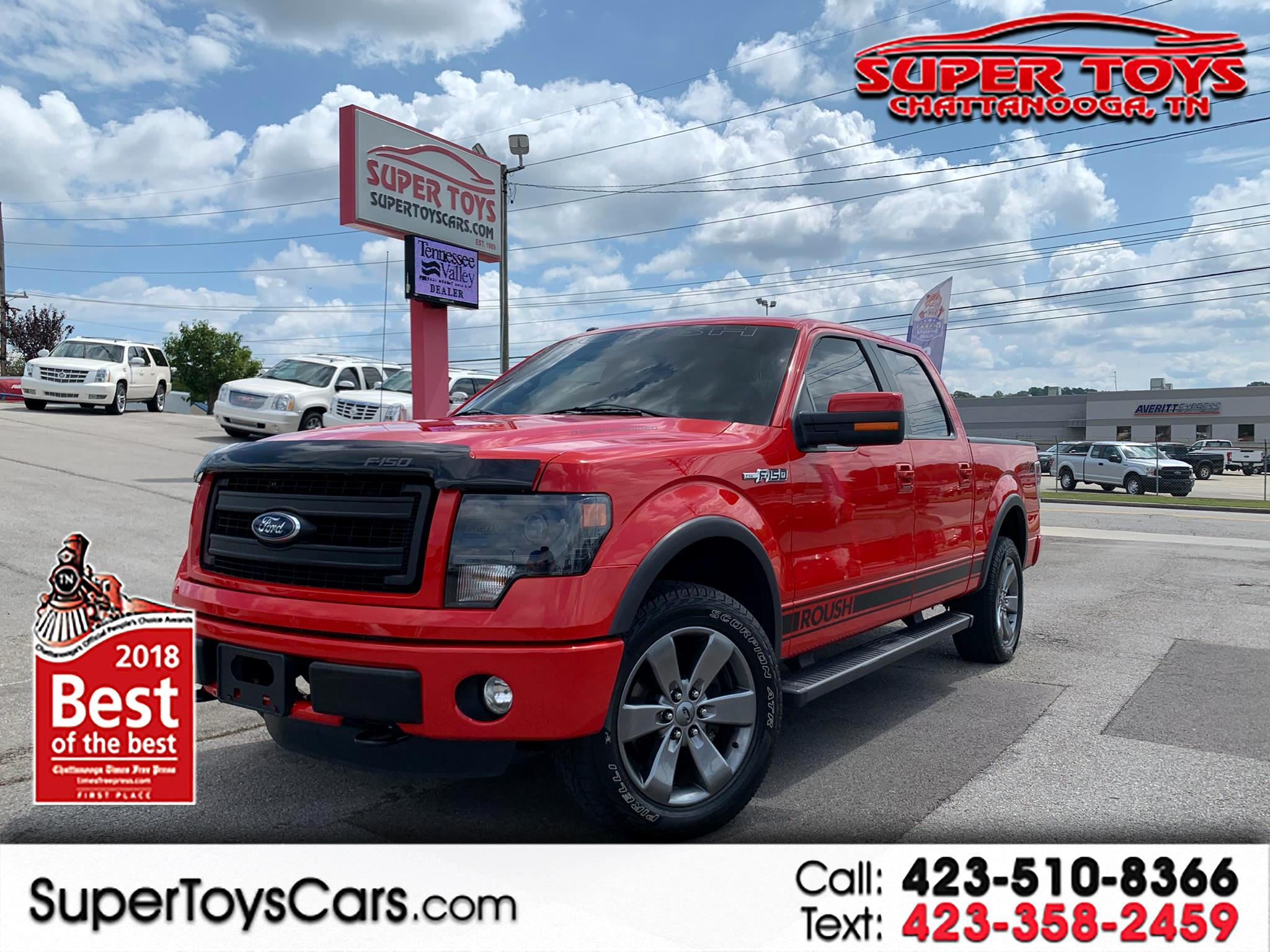 2014 Ford F-150 4WD SuperCrew Platinum Roush Edition