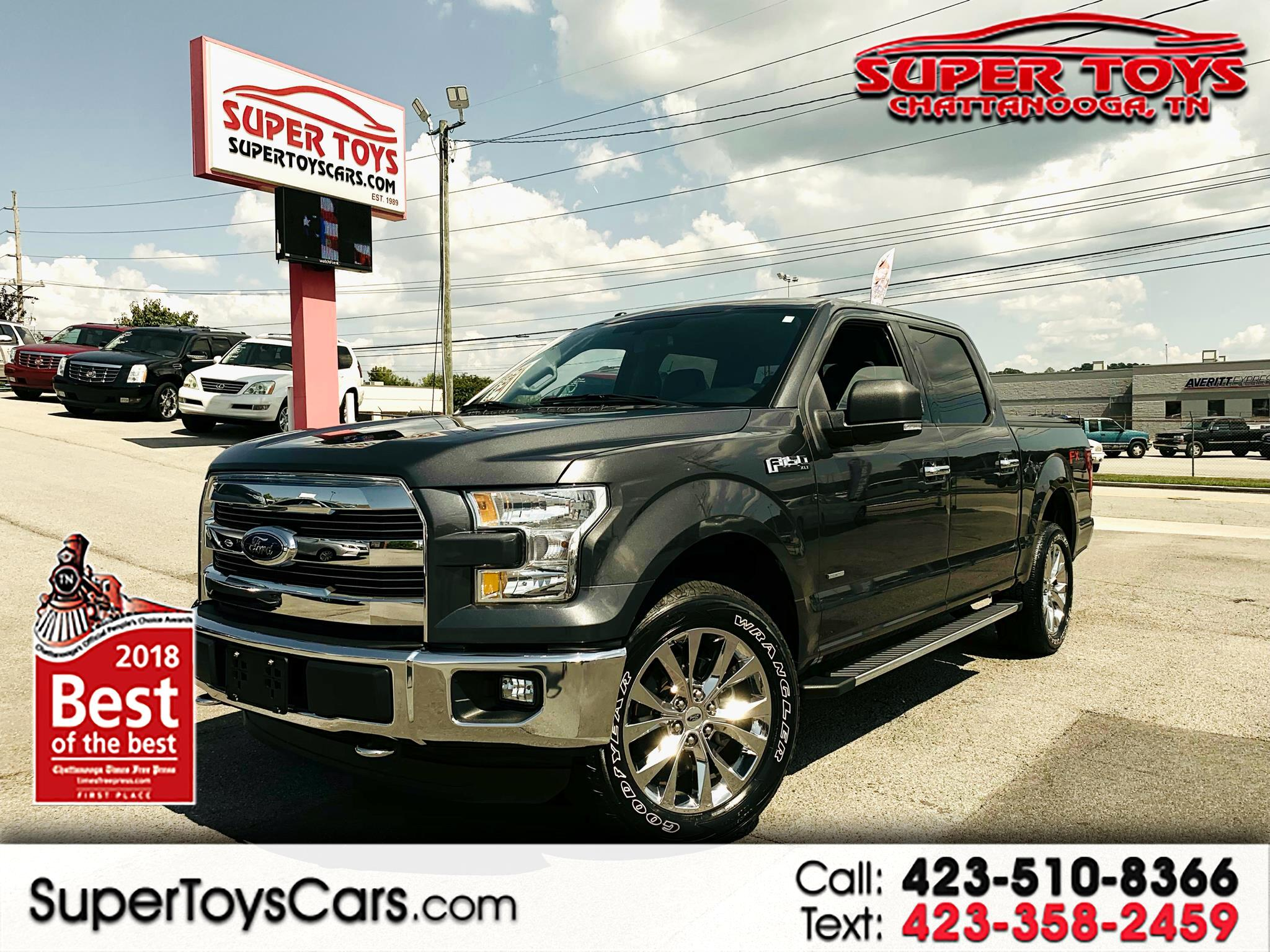 "2015 Ford F-150 4WD SuperCrew 150"" FX4"