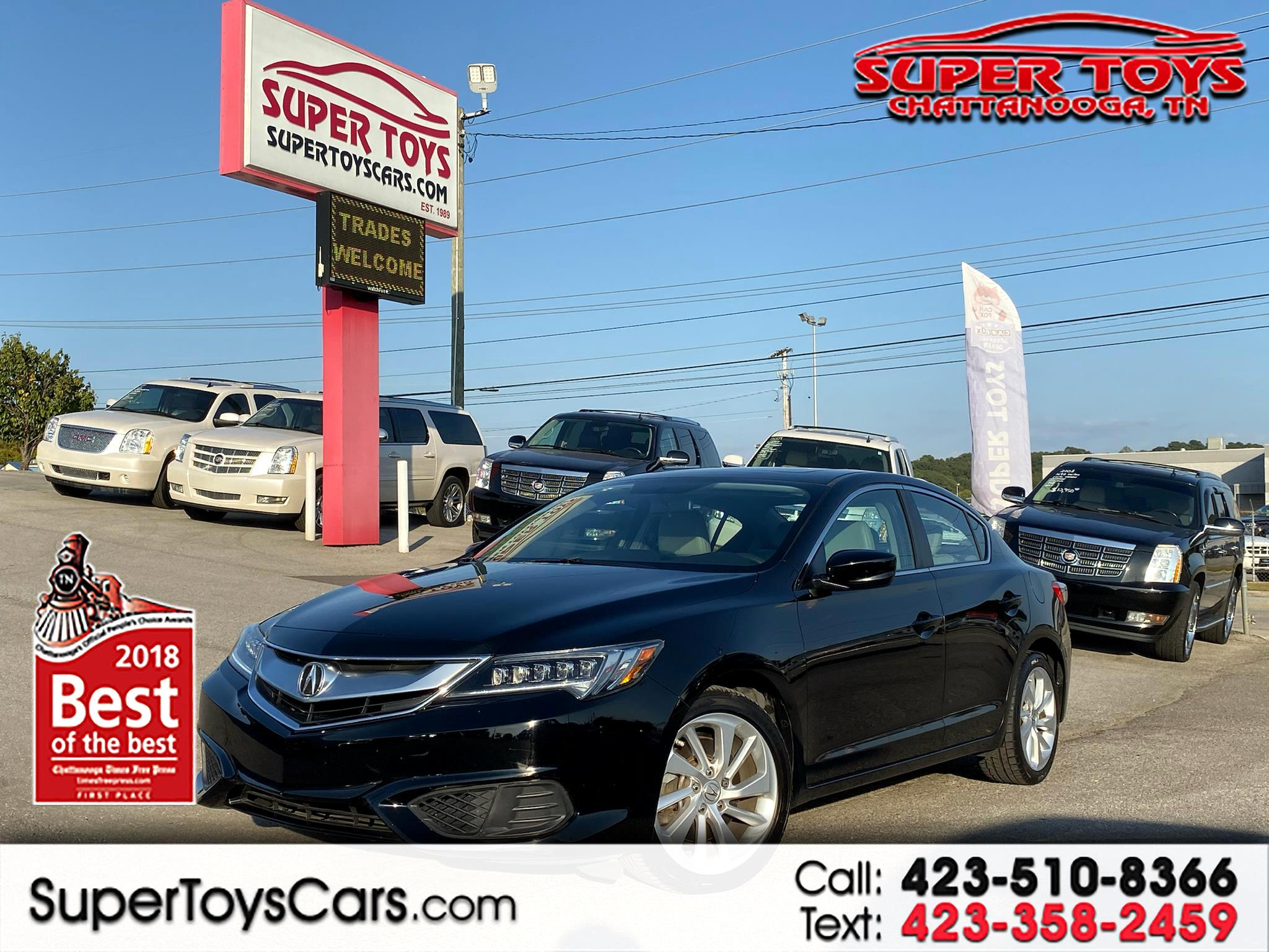 2016 Acura ILX 5-Spd AT w/ Premium Package