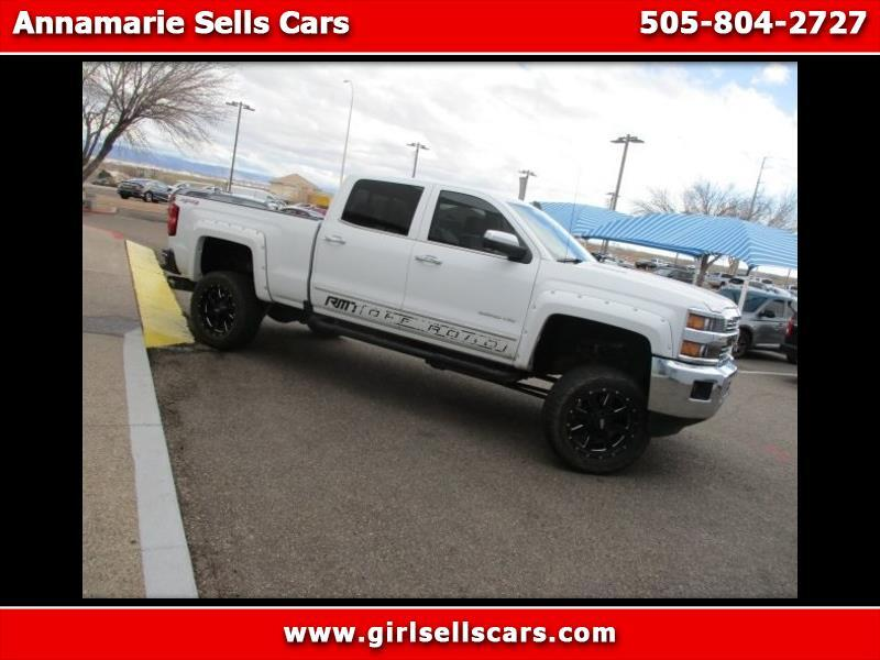 2016 Chevrolet Silverado 2500HD LTZ Crew Cab Long Box 4WD