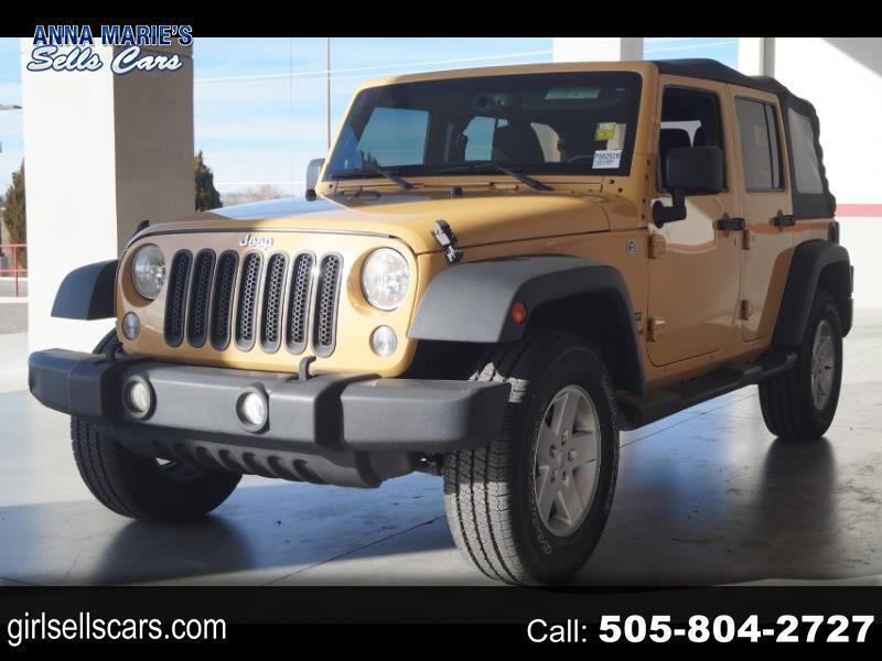 Jeep Wrangler Unlimited Sport 4WD 2014