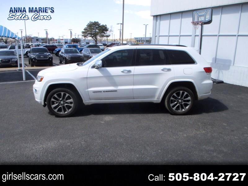 Jeep Grand Cherokee Overland 4WD 2018
