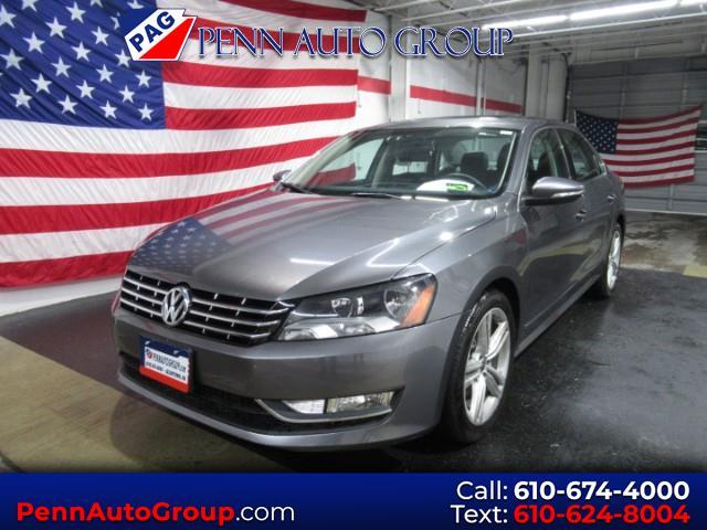 2012 Volkswagen Passat 3.6L V6 SEL Premium