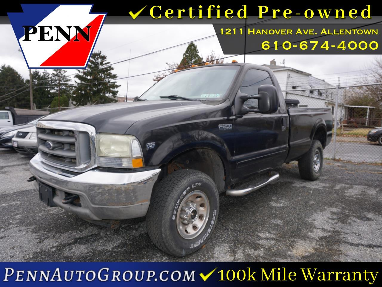 2002 Ford Super Duty F-250 Reg Cab 137