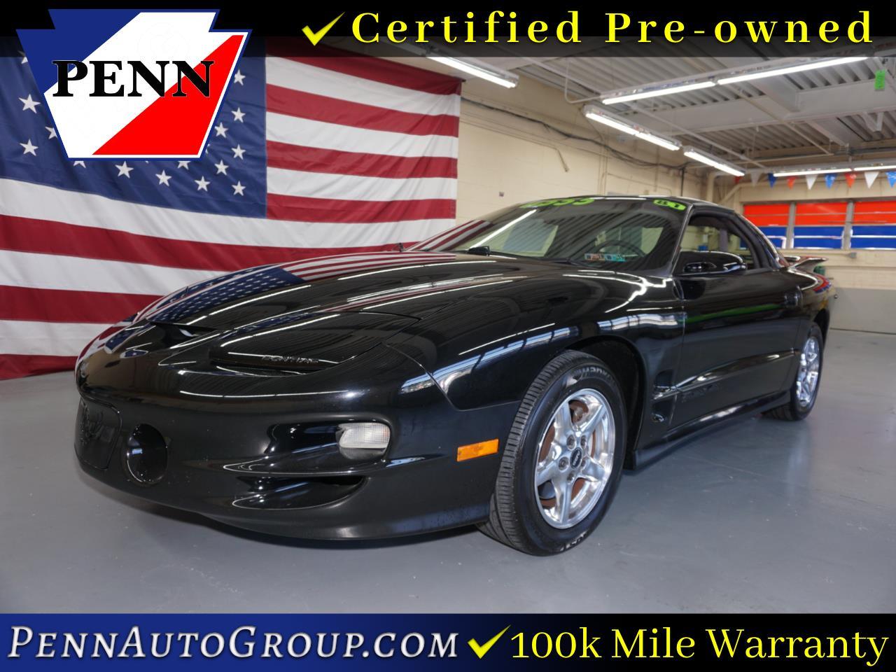 1998 Pontiac Firebird 2dr Cpe Trans Am