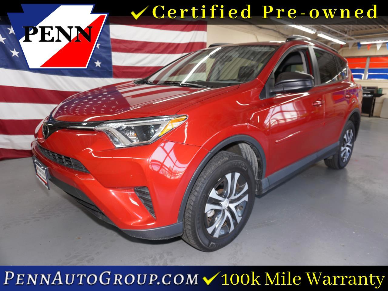 2017 Toyota RAV4 LE AWD (Natl)