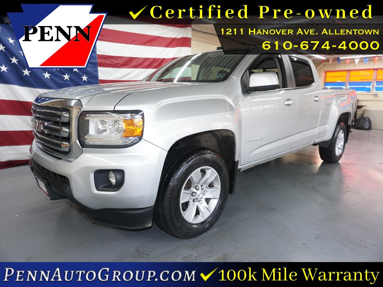 2017 GMC Canyon 4WD Crew Cab 140.5