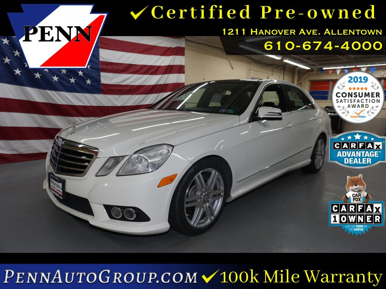 2010 Mercedes-Benz E-Class 4dr Sdn E 350 Luxury 4MATIC