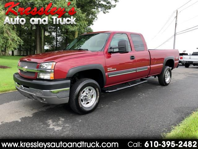 2004 Chevrolet Silverado 2500HD Ext Cab 157.5