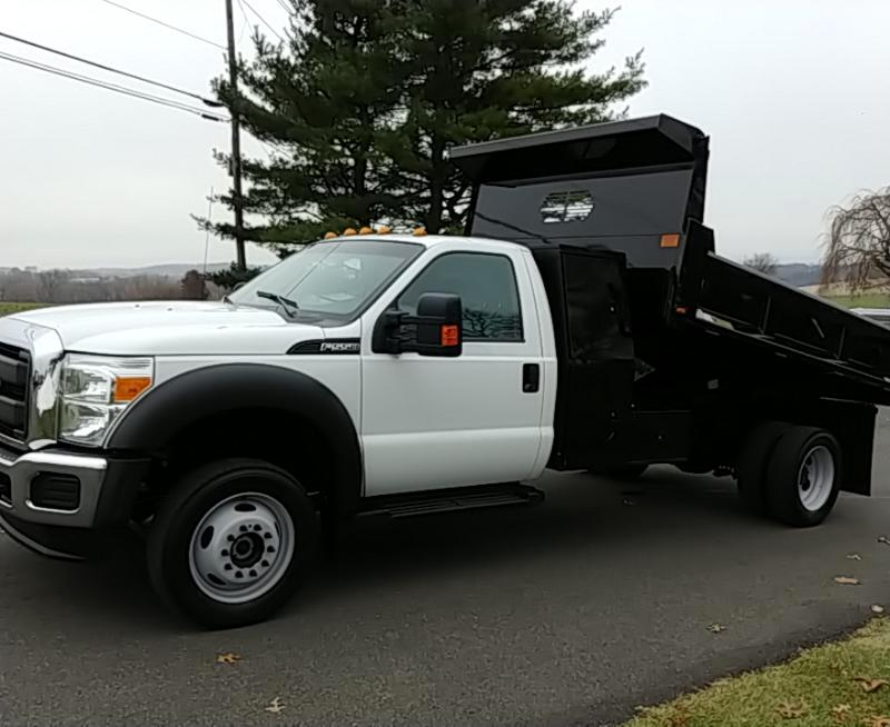 2016 Ford Super Duty F-550 DRW 4WD Reg Cab 165