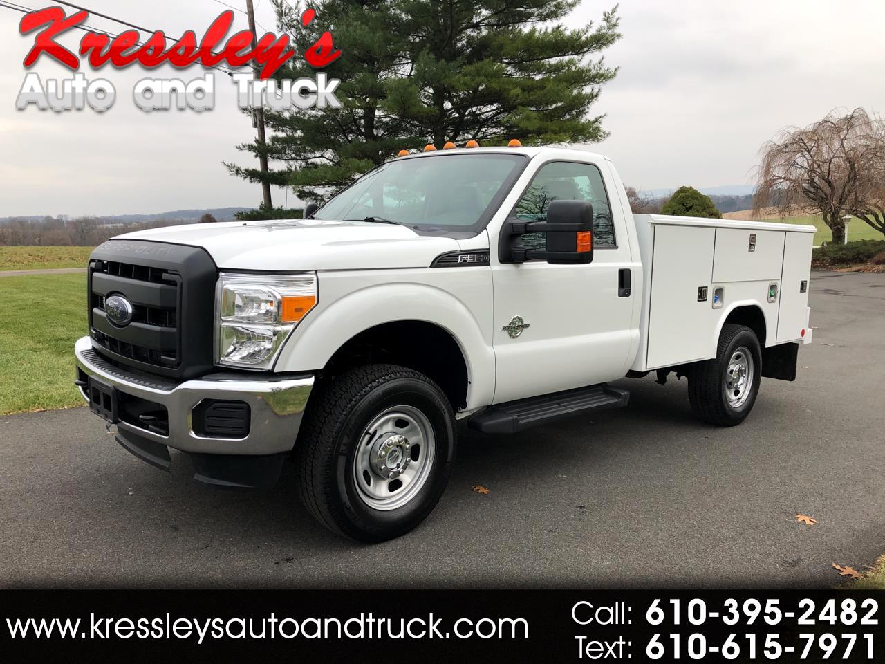 "2015 Ford Super Duty F-350 SRW 4WD Reg Cab 141"" WB 60"" CA XL"