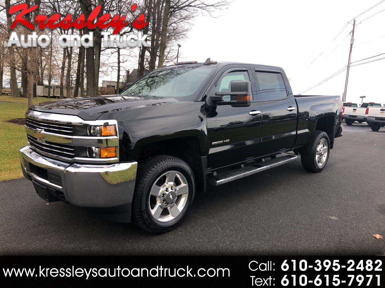 2017 Chevrolet Silverado 2500HD 4WD Crew Cab Short Bed