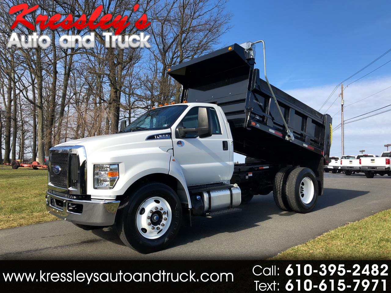 2018 Ford Super Duty F-650 Straight Frame Reg Cab