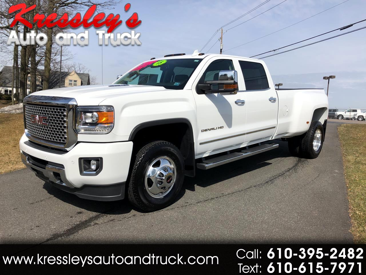 2015 GMC Sierra 3500HD available WiFi 4WD Crew Cab 167.7
