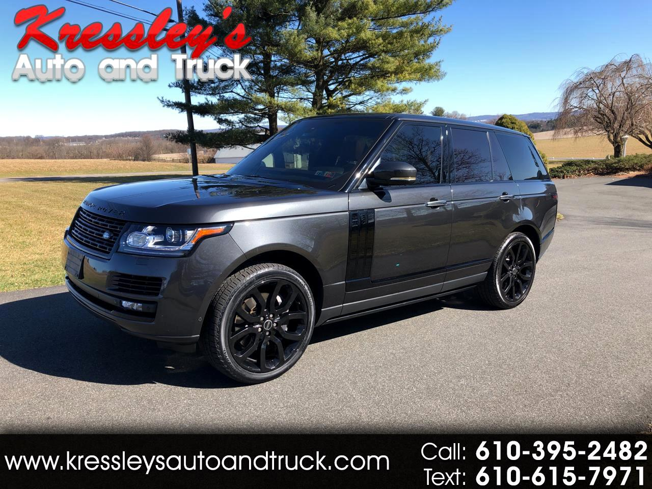 2015 Land Rover Range Rover 4WD 4dr Autobiography