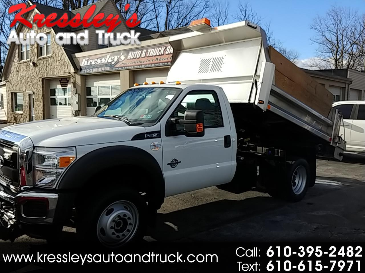 "2015 Ford Super Duty F-550 DRW 4WD Reg Cab 141"" WB 60"" CA XL"