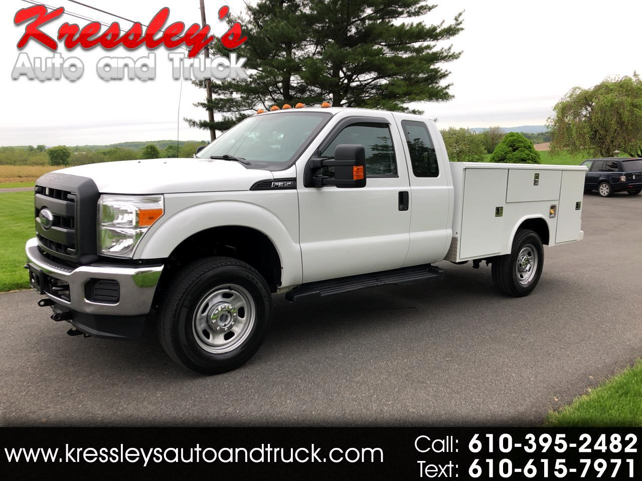 2016 Ford Super Duty F-350 SRW 4WD SuperCab 162