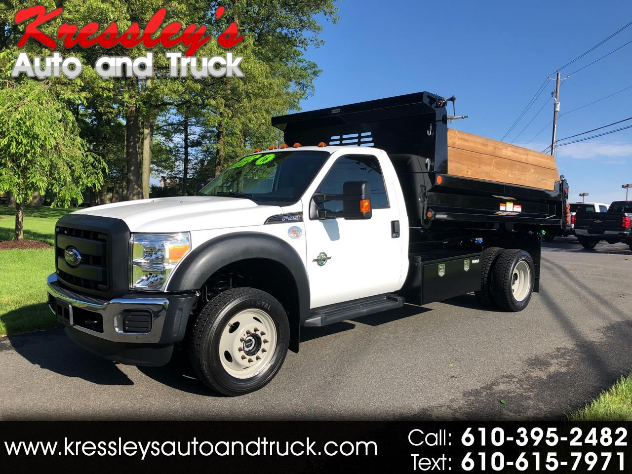 "2016 Ford Super Duty F-450 DRW 4WD Reg Cab 165"" WB 84"" CA XL"