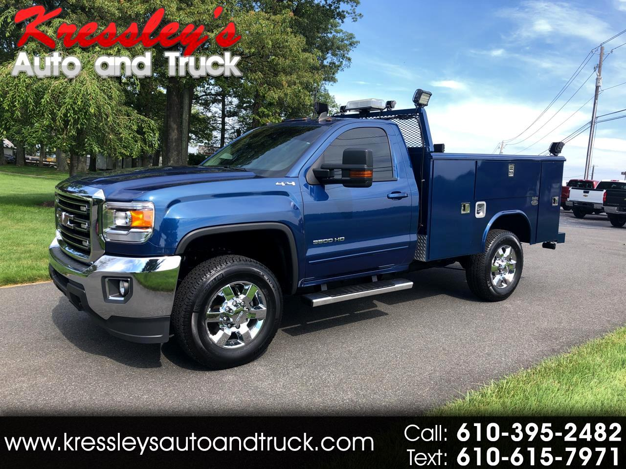 "GMC Sierra 3500HD available WiFi 4WD Reg Cab 133.6"" SLE 2015"