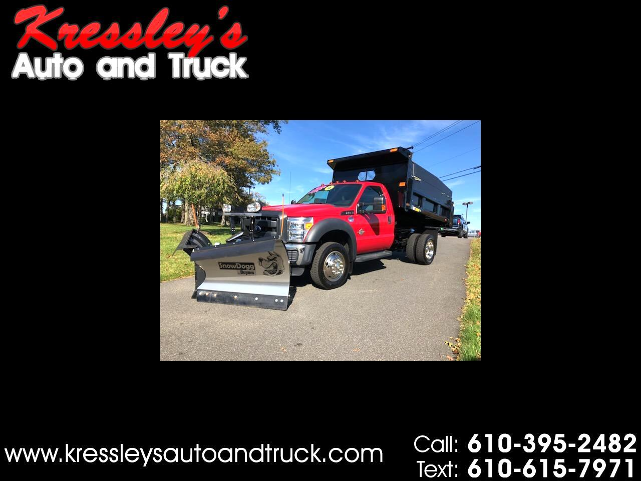 "Ford Super Duty F-550 DRW 4WD Reg Cab 141"" WB 60"" CA XL 2016"