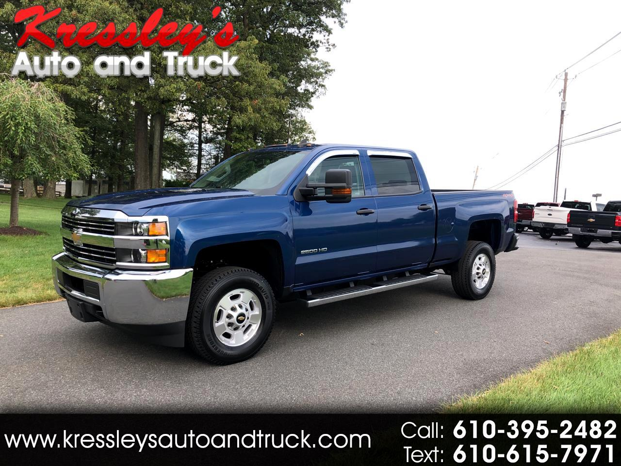 2016 Chevrolet Silverado 2500HD 4WD Crew Cab Short Bed