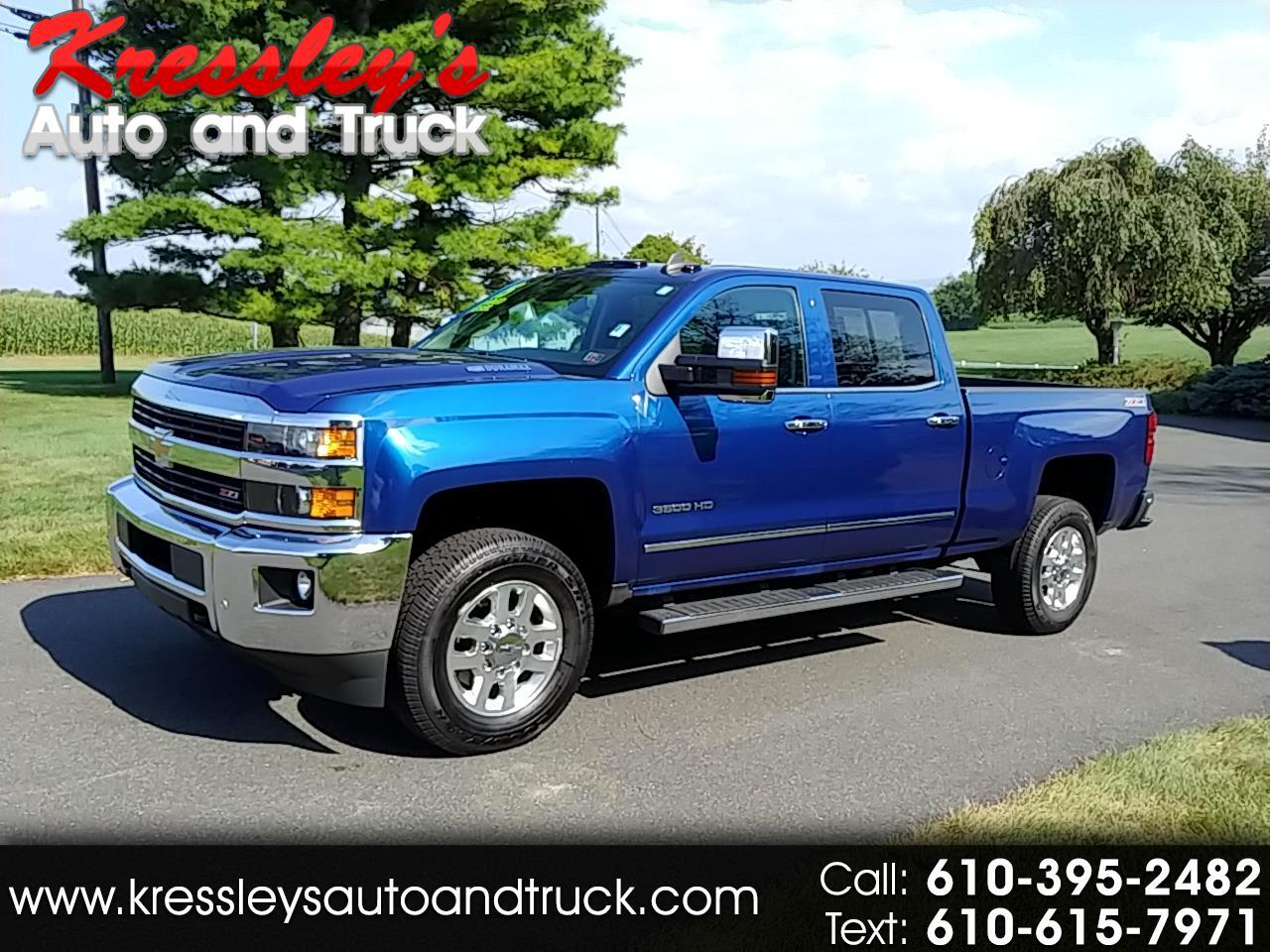 "Chevrolet Silverado 3500HD Built After Aug 14 4WD Crew Cab 153.7"" LTZ 2015"