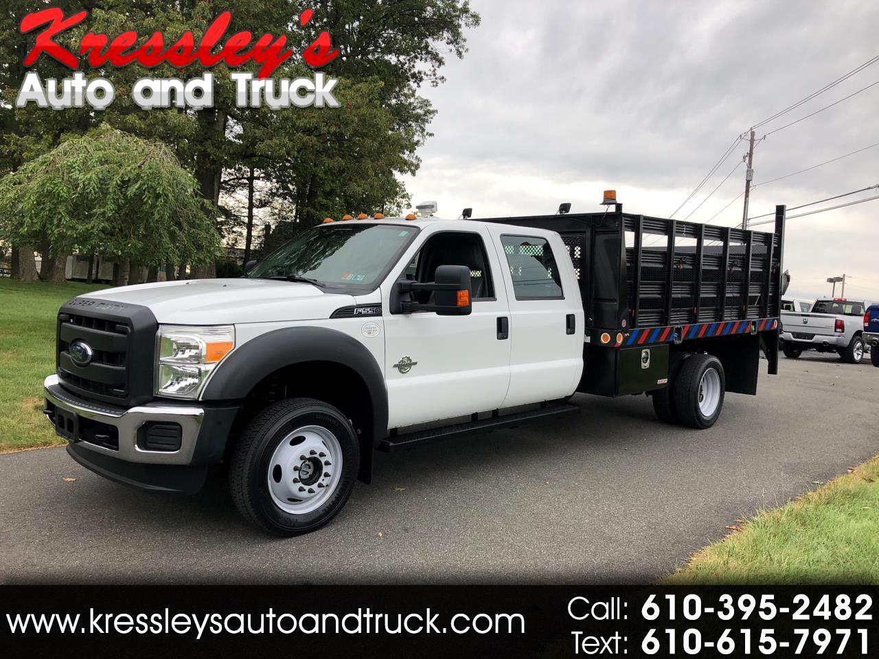 "2012 Ford Super Duty F-550 DRW 4WD Crew Cab 176"" WB 60"" CA XL"