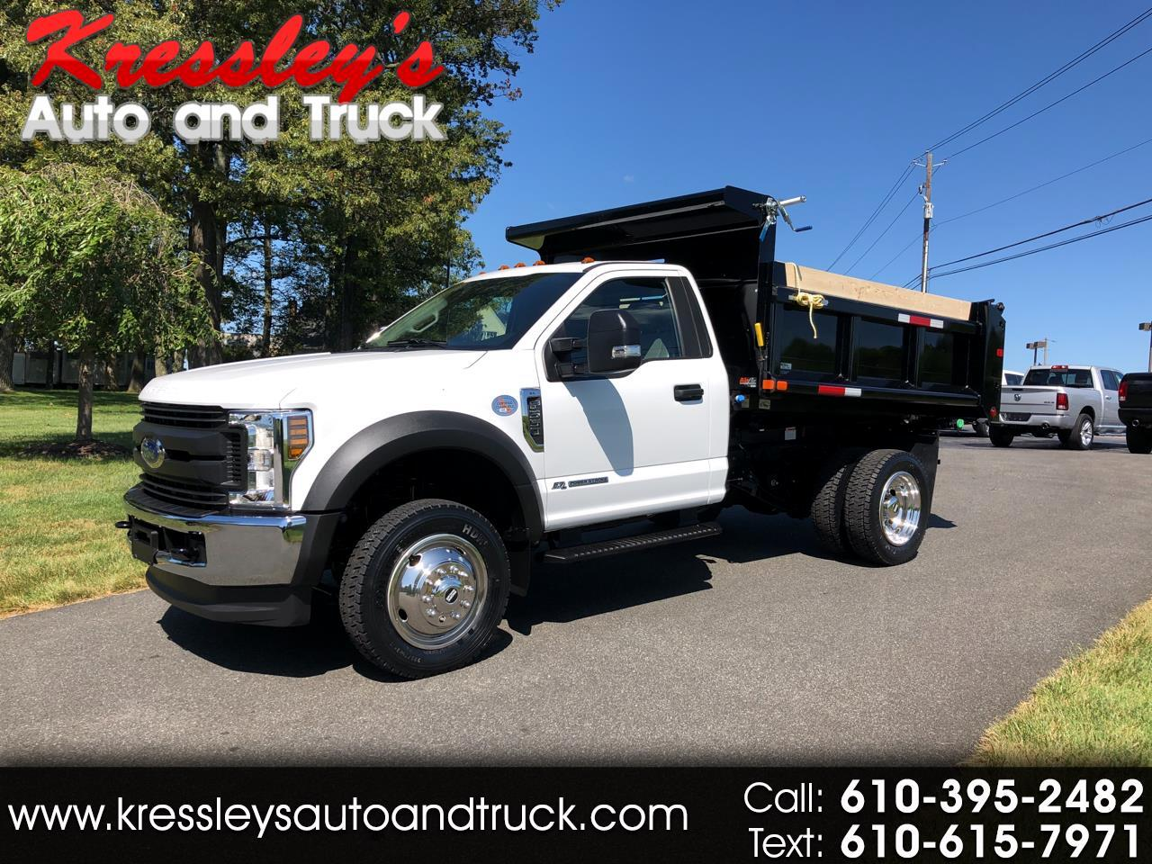 "2018 Ford Super Duty F-550 DRW XL 4WD Reg Cab 145"" WB 60"" CA"
