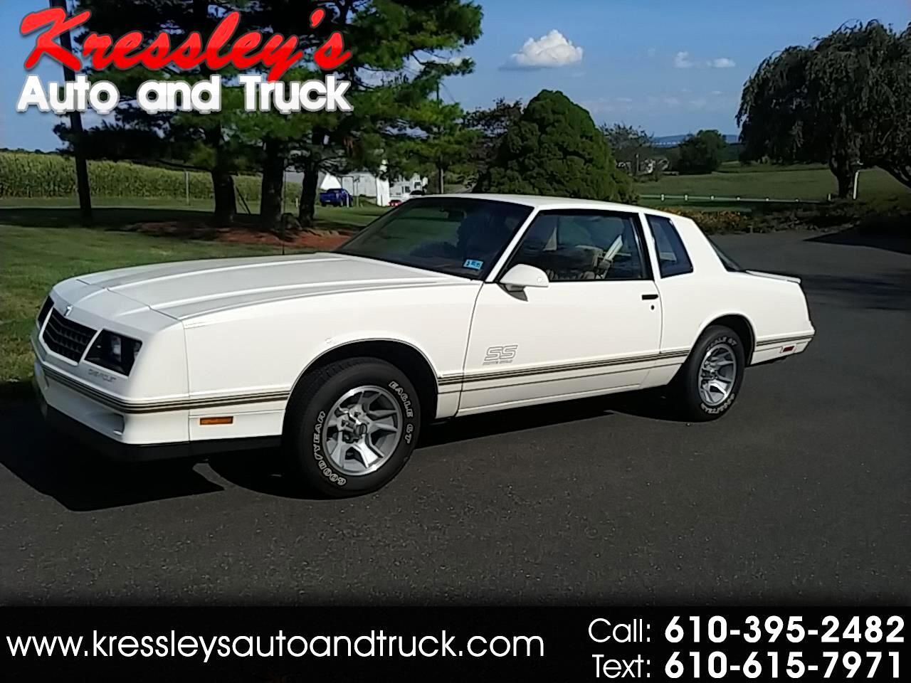 1987 Chevrolet Monte Carlo 2dr Coupe Aero SS