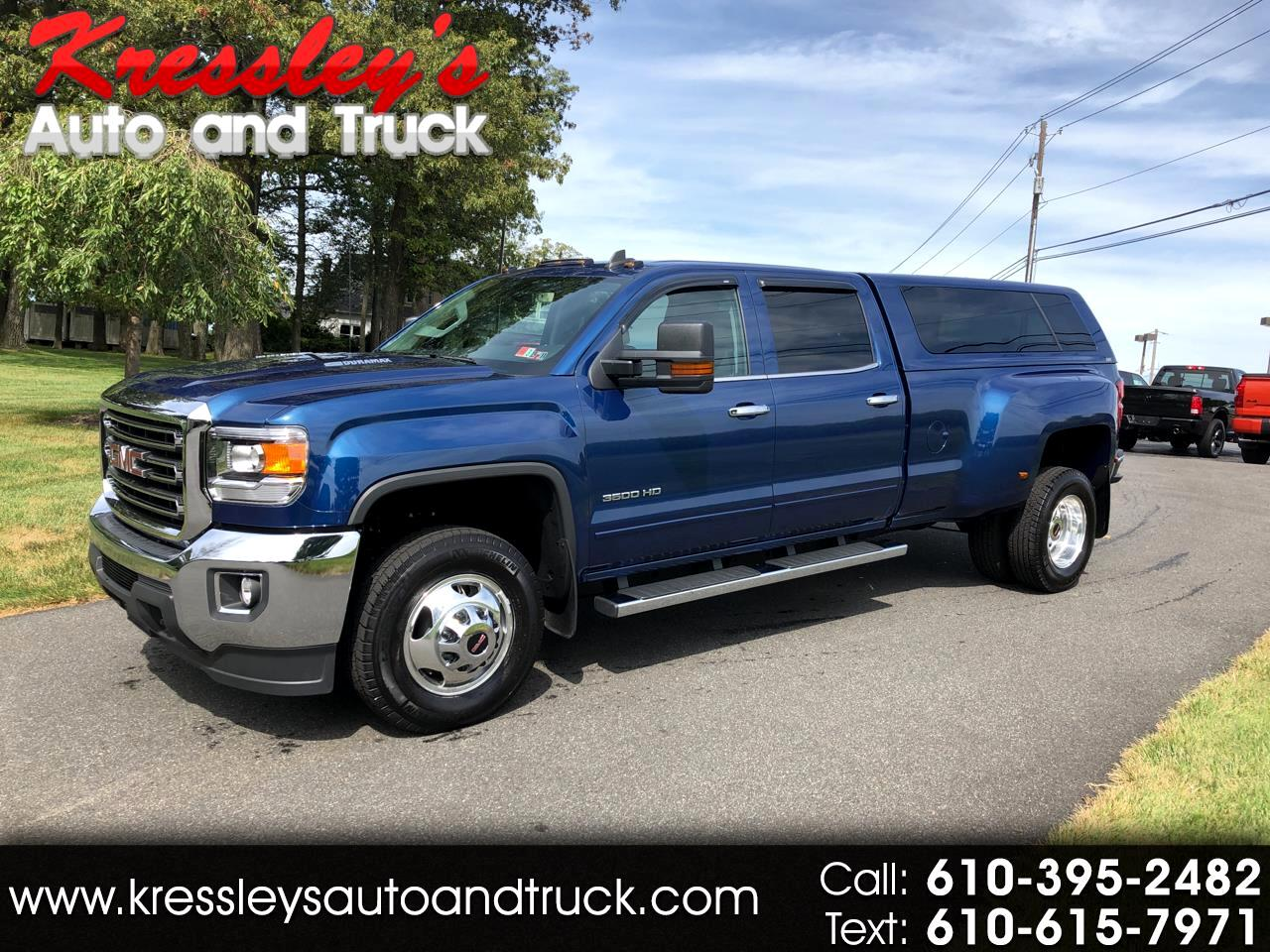 "2015 GMC Sierra 3500HD available WiFi 2WD Crew Cab 167.7"" SLE"