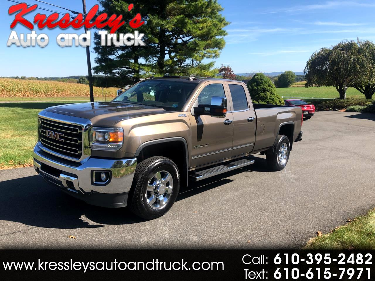 2015 GMC Sierra 2500HD available WiFi 4WD Double Cab 158.1