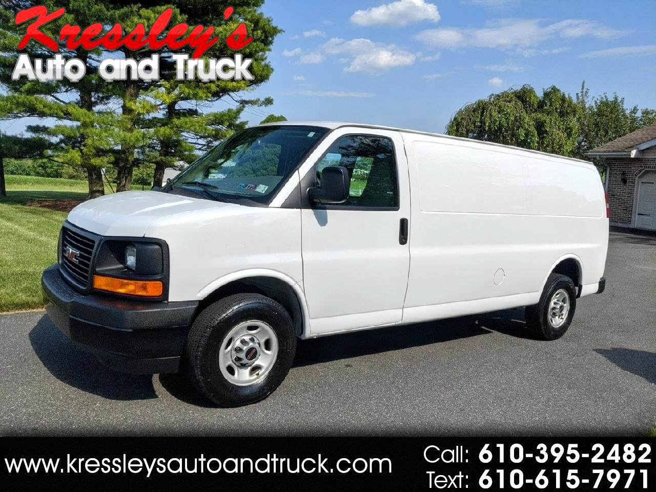 "GMC Savana Cargo Van RWD 2500 155"" 2017"