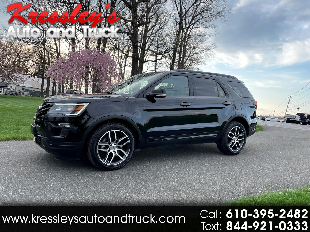 2018 Ford Explorer Sport 4WD