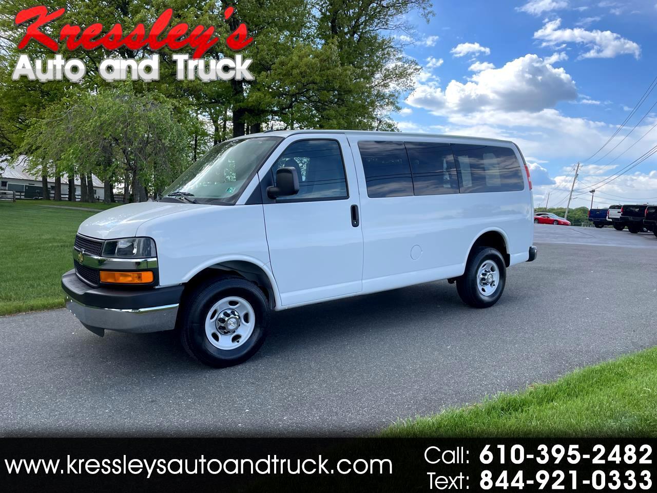 "2015 Chevrolet Express Cargo Van RWD 3500 135"" Paratransit"