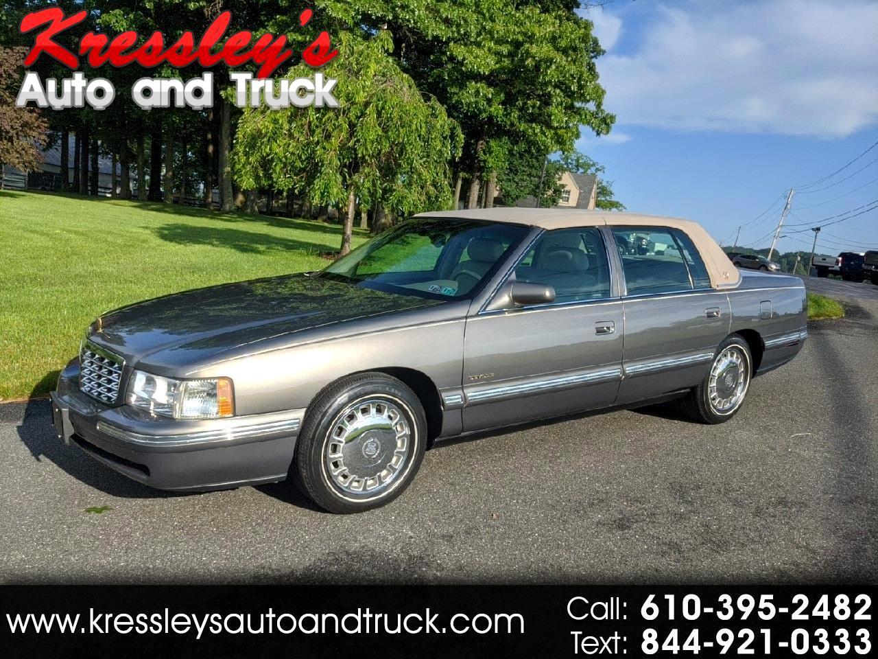 1999 Cadillac DeVille 4dr Sdn