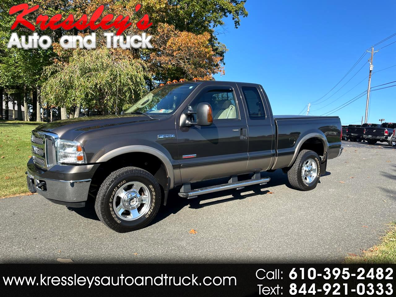 """2005 Ford Super Duty F-250 Supercab 142"""" Lariat 4WD"""