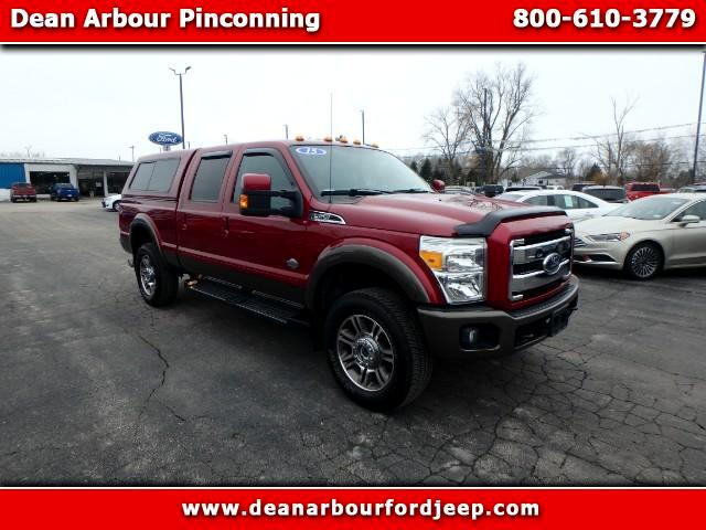 2015 Ford F-350 SD King Ranch Crew Cab Long Bed 4WD