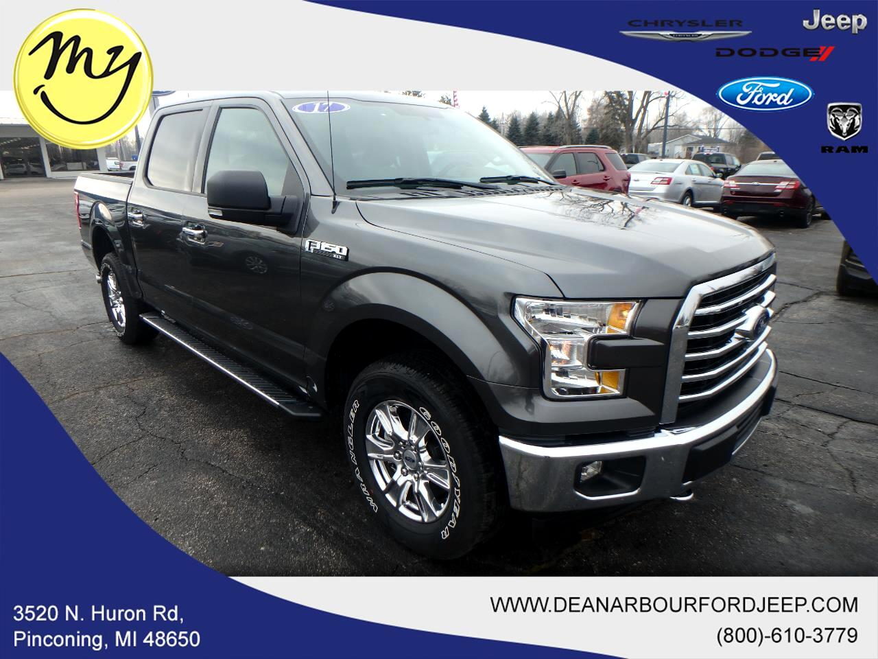 2017 Ford F-150 XLT SuperCrew Short Box 4WD