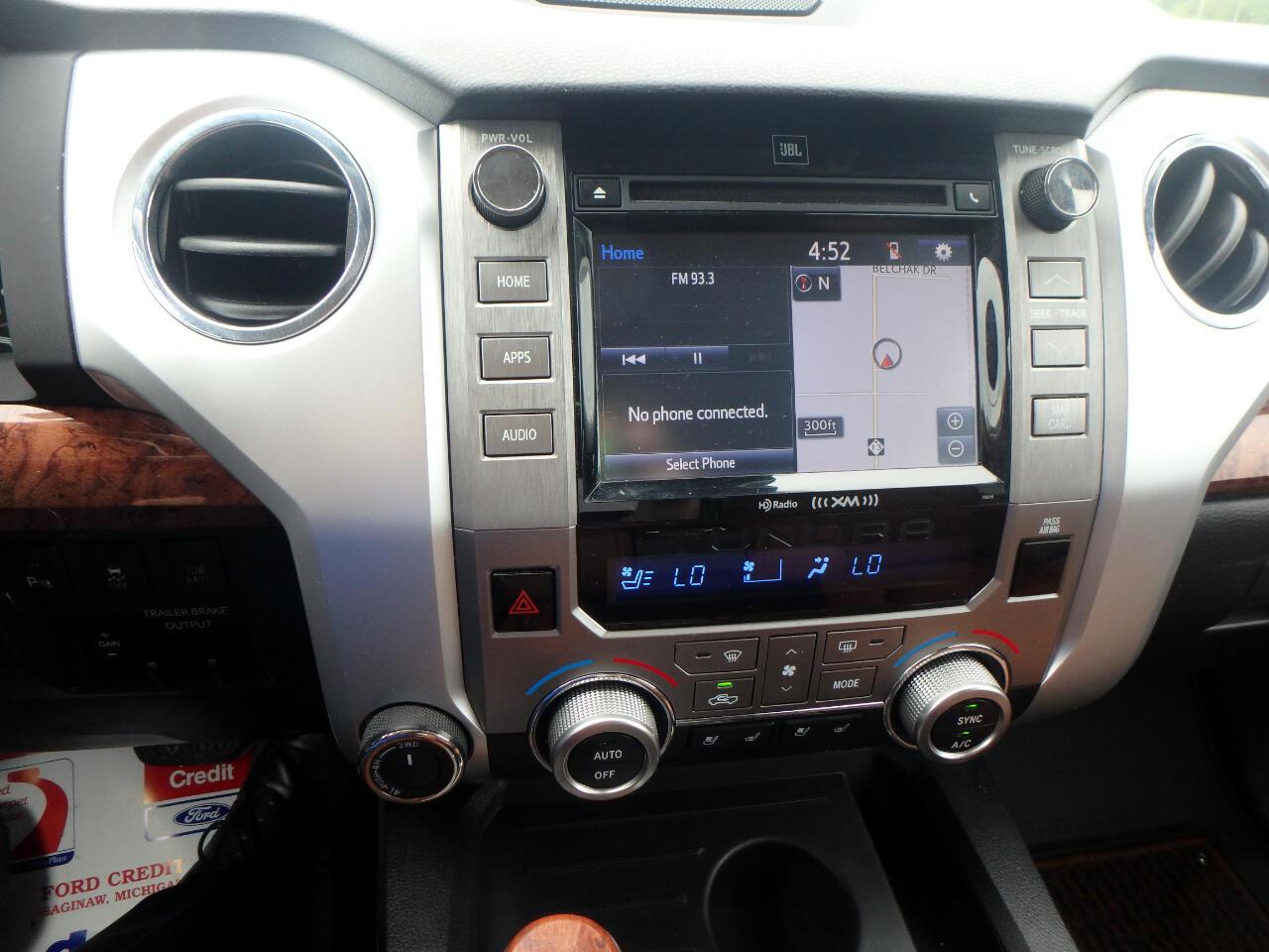 2018 Toyota Tundra 4WD SR5 CrewMax 5.5' Bed 5.7L FFV (Natl)