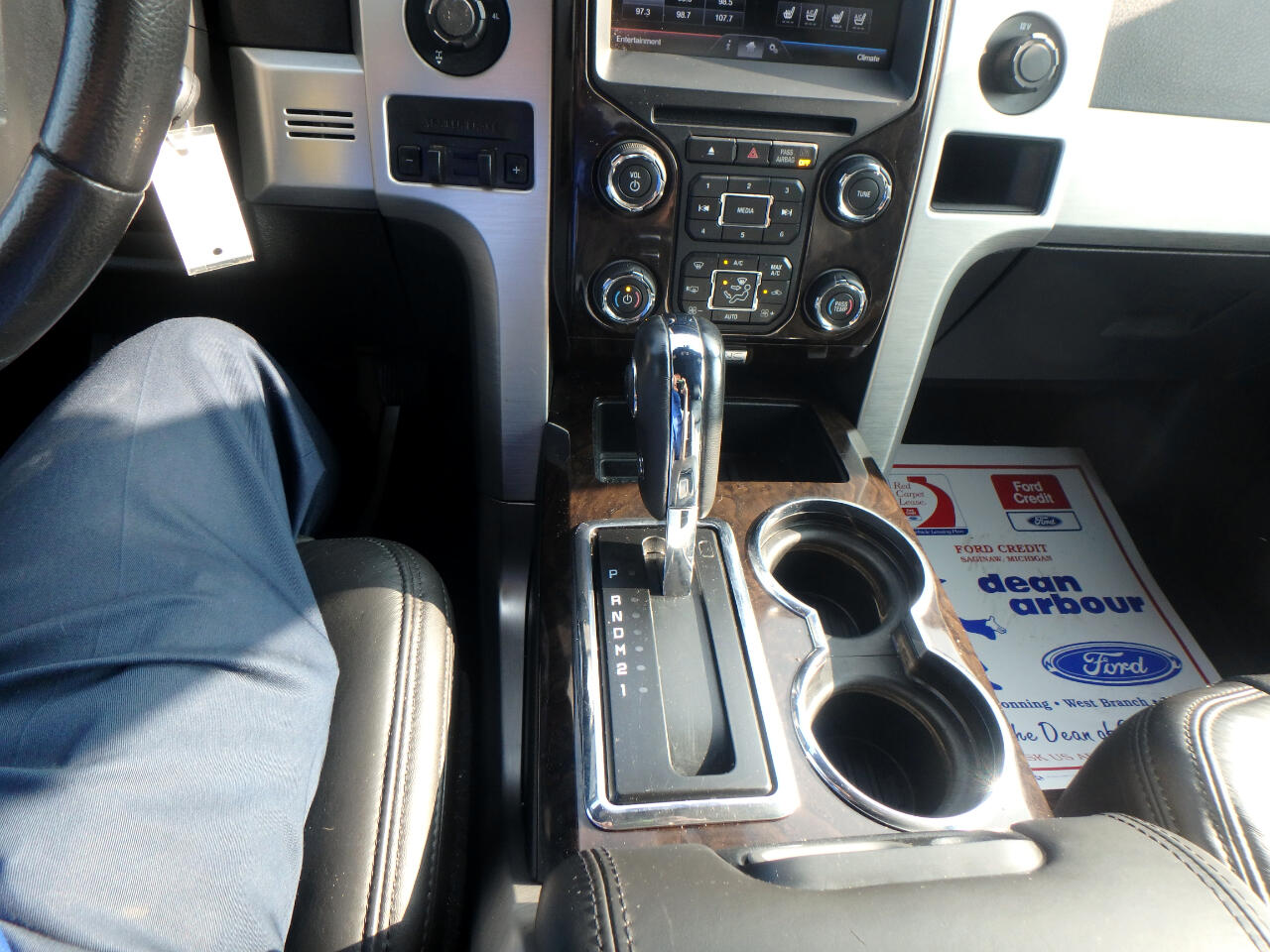 Ford F-150 Platinum SuperCrew 5.5-ft. Bed 4WD 2013