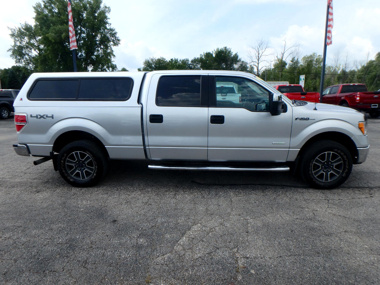 Ford F-150 XLT SuperCrew 6.5-ft Box 4WD 2011