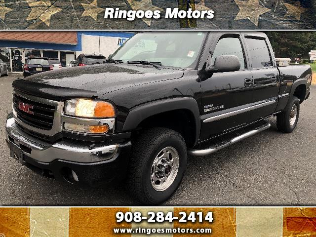 2007 GMC Sierra Classic 2500HD Work Truck Crew Cab Long Box 4WD
