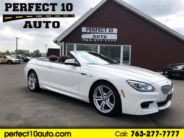 2015 BMW 6-Series 650i Convertible