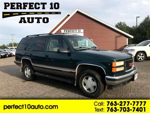 1998 GMC Yukon SLE 4WD