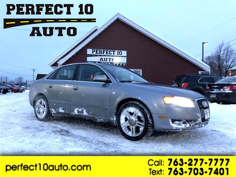 2006 Audi A4 3.2 quattro with Tiptronic