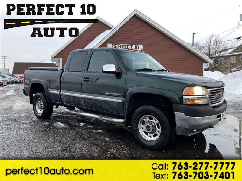 2002 GMC Sierra 2500HD SL Ext. Cab Long Bed 4WD