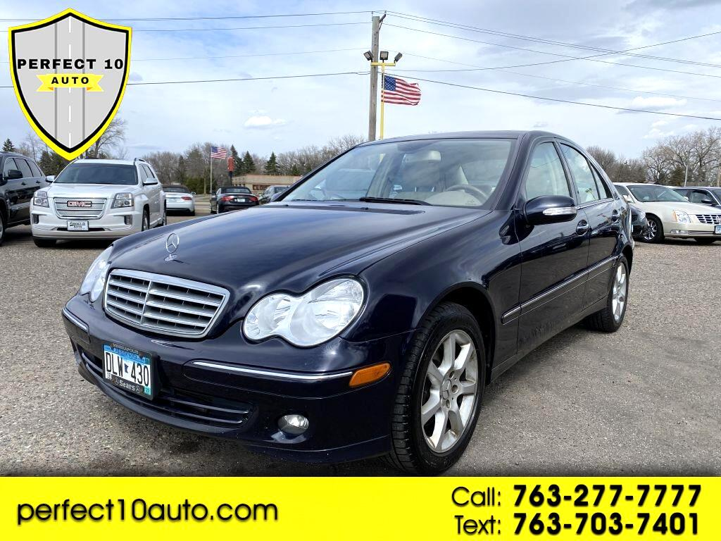 Mercedes-Benz C-Class 4dr Sdn 3.0L Luxury 4MATIC 2007